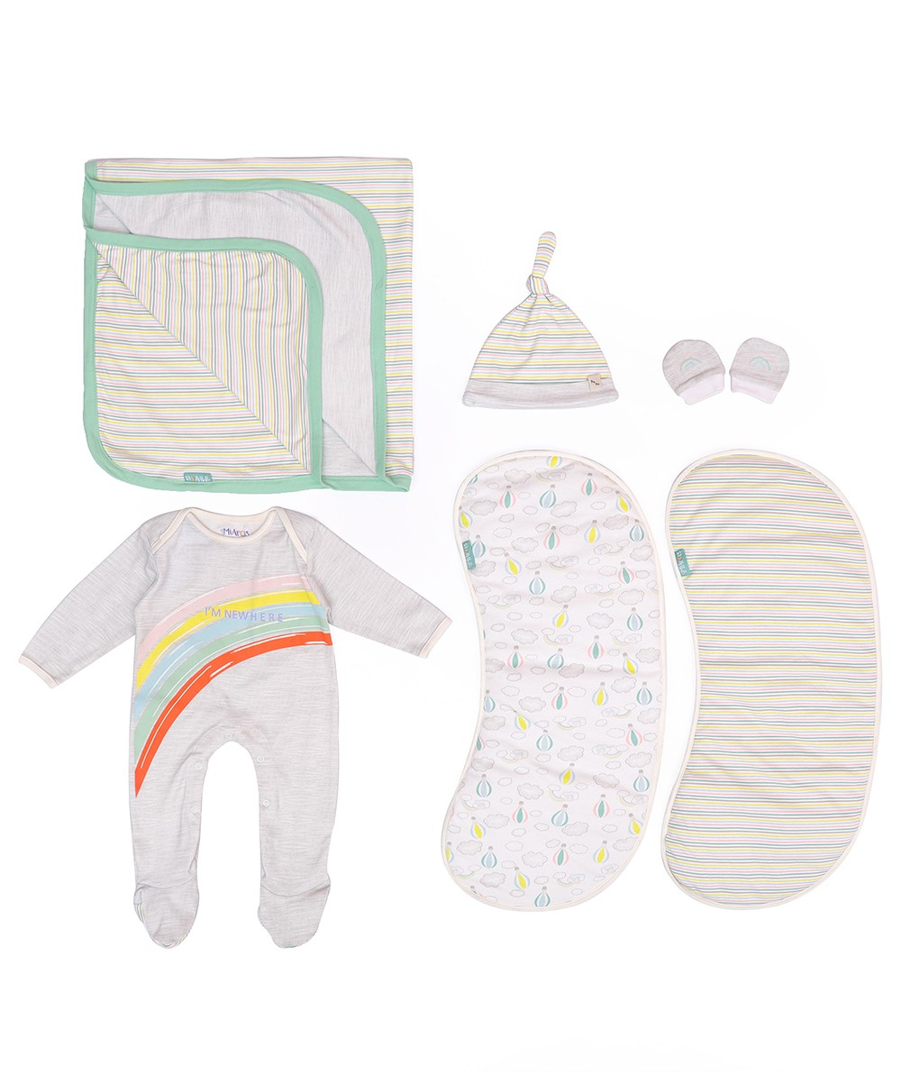 Coming Home Knitted Gift Set - Arcus