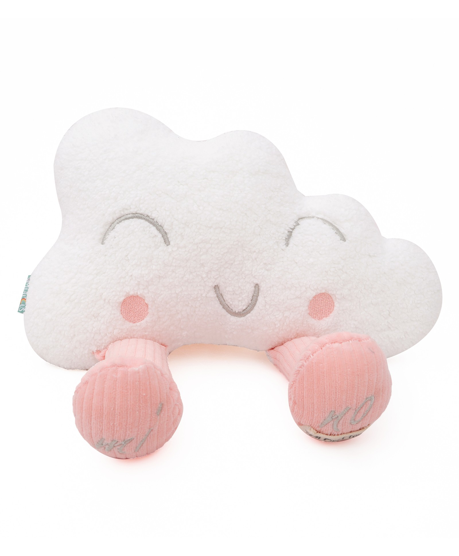 Mino Cloud Knitted Soft Toy- Pink