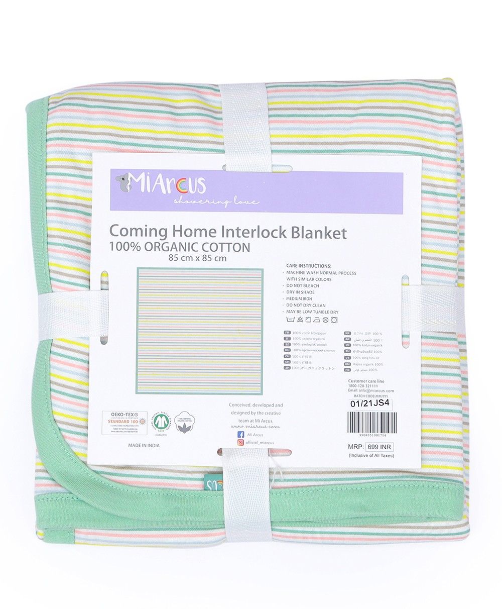Coming Home Interlock Blanket - Arcus