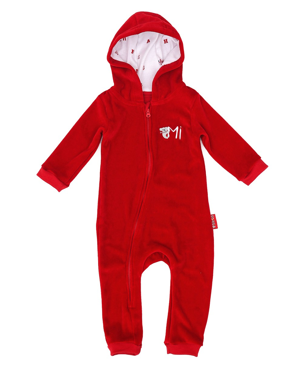 Comfy Knitted - Velour Sleep Suit