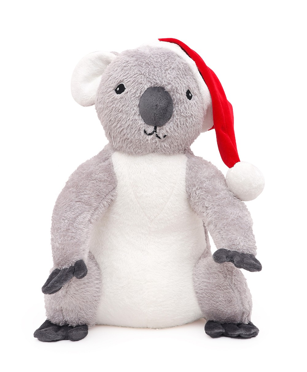Zoe Koala Knitted - Coral Soft Toy