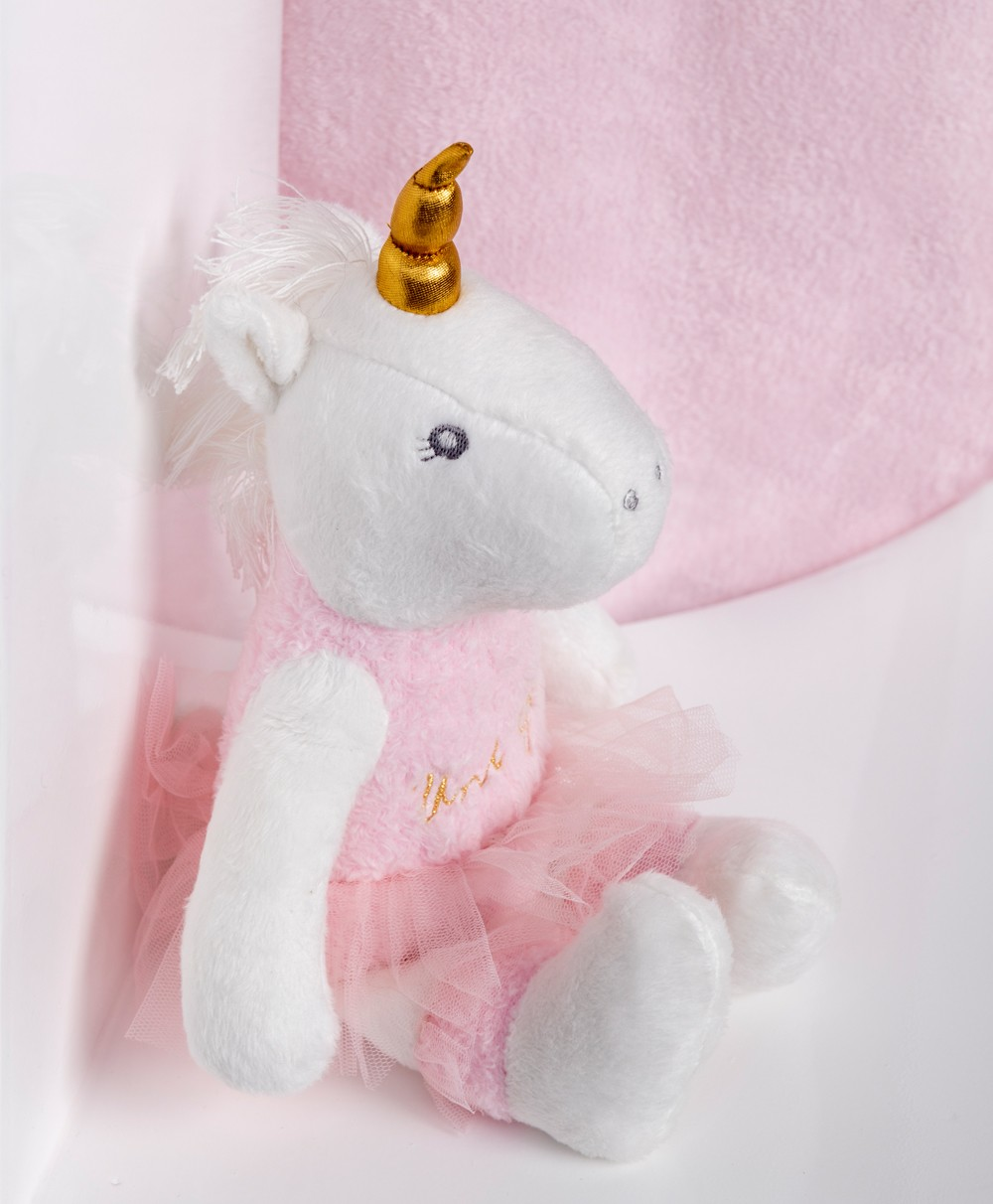 Uniglow Family Knitted Soft Toy