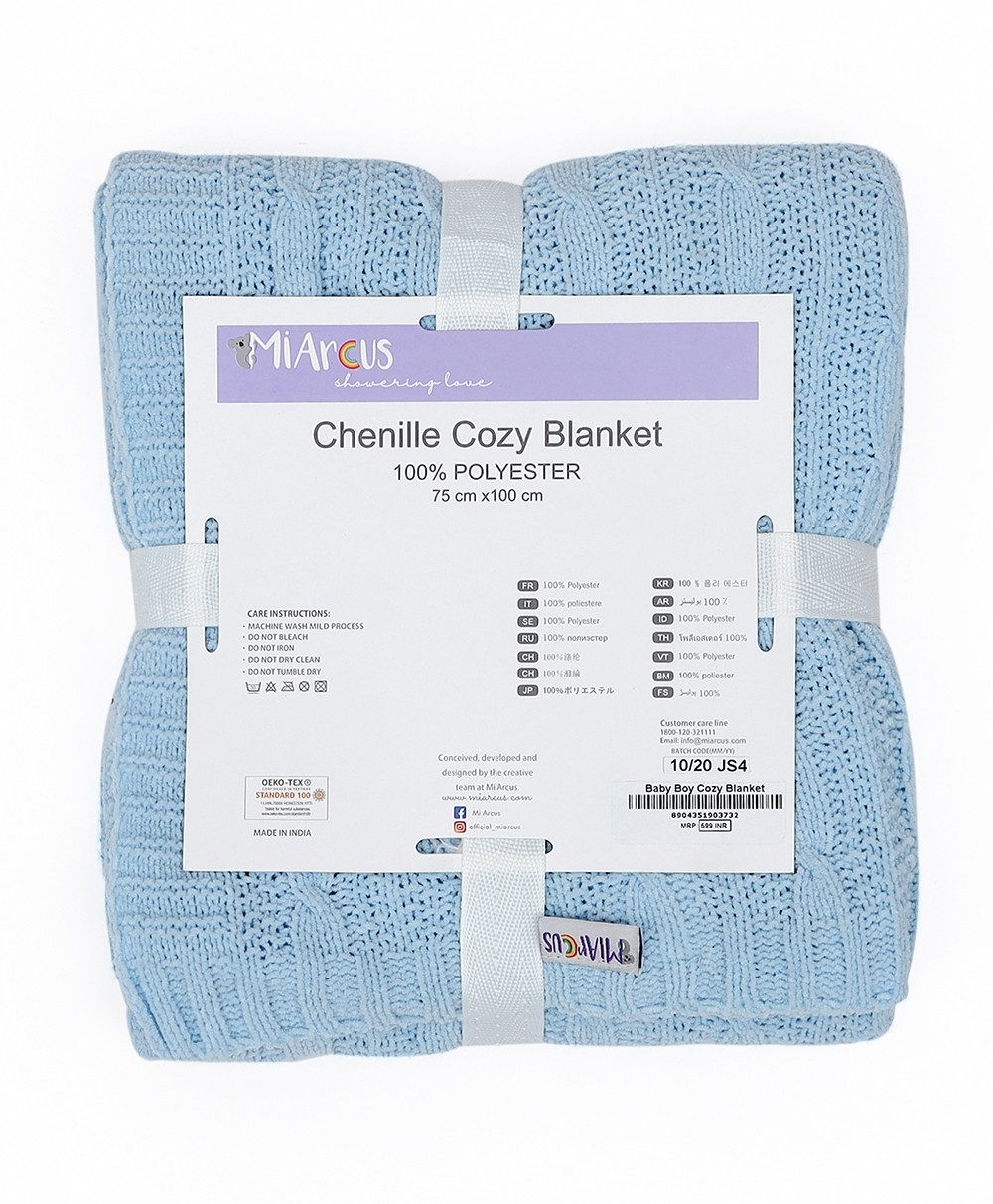 Cozy Knitted Blanket