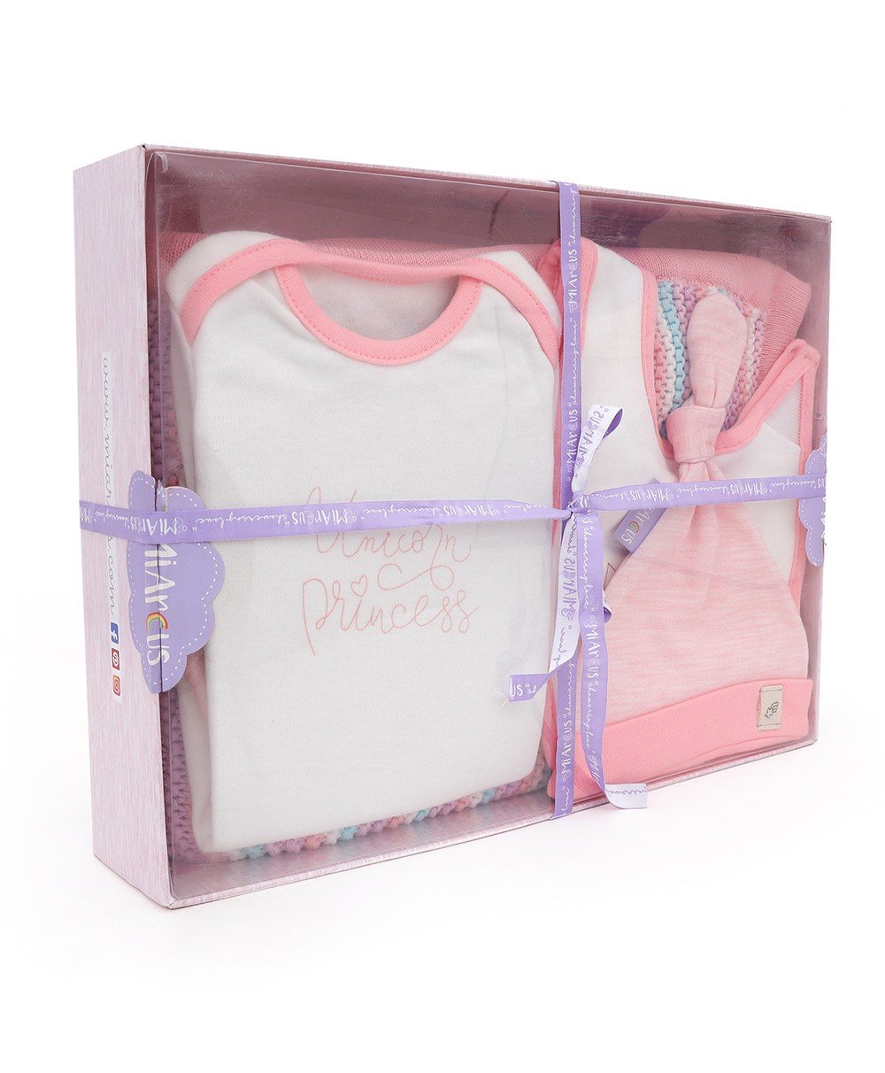 Pearl Knitted Gift Set