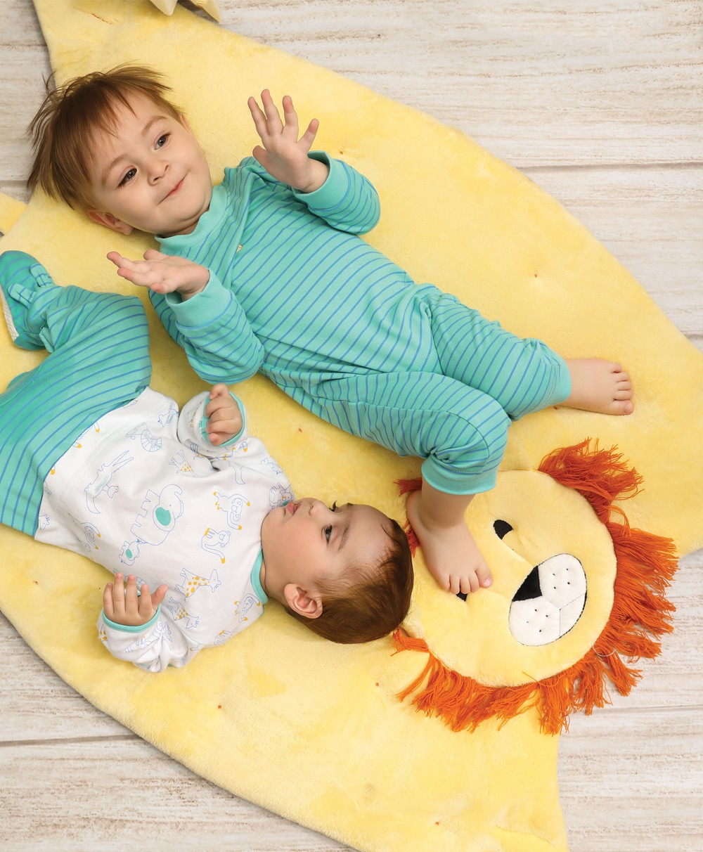 Roar Knitted Play Mat